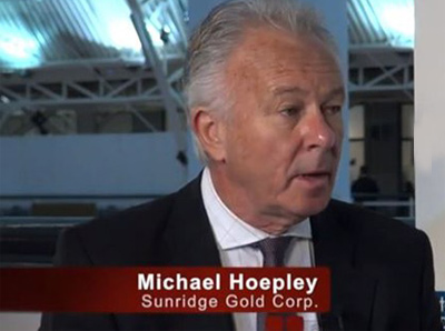 Sunridge received the mining licenses