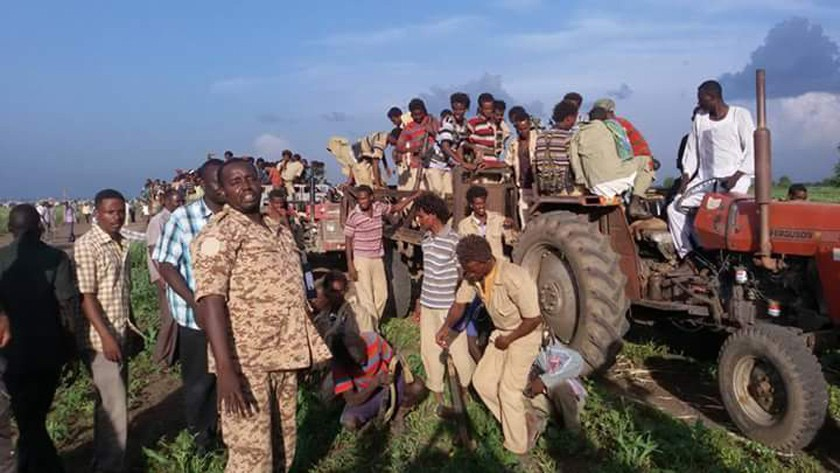 TPDM defectors after crossing the Sudanese border town