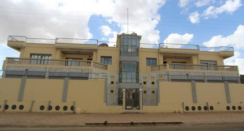 The new American Cultural Center building in Asmara