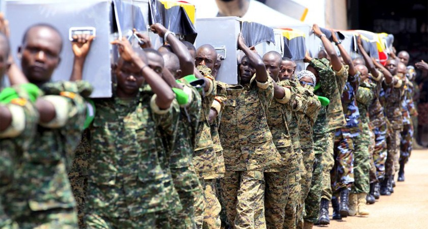 Soldiers under AMISOM are paid a mission allowance of $1,028