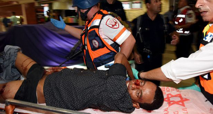 Eritrean Man Shot by Israeli Guard, Savagely Beaten by Angry Mob