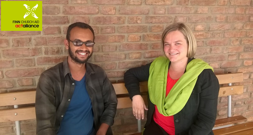 Finn Church Aid Sent Education Specialist to Eritrea