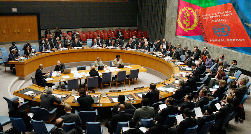Eritrea appeals the Security Council to lift sanctions