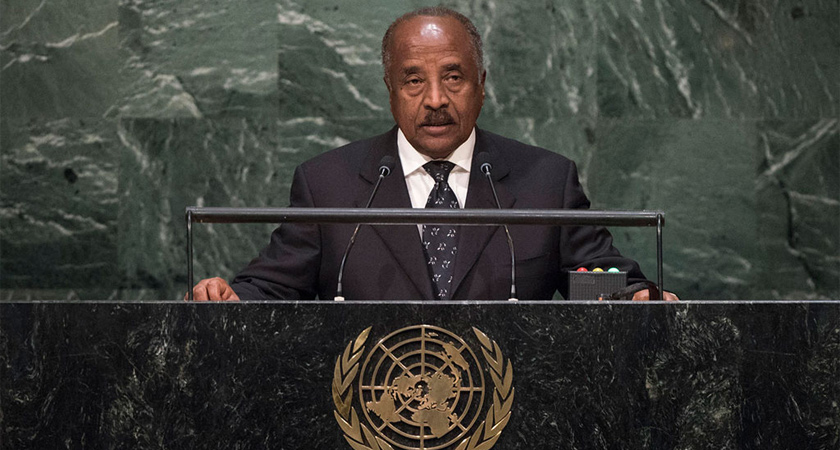 osman-saleh addressing 70th UN General Assembly