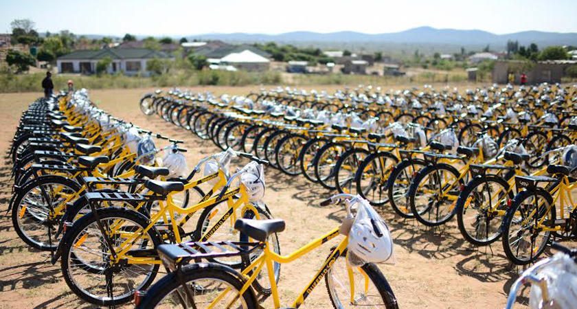 World Bicycle Relief have donated 260,713 bikes in thirteen African countries.