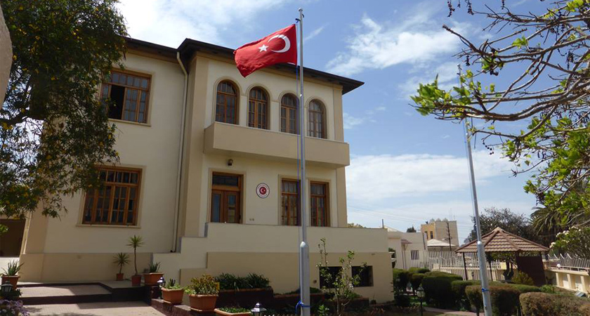 Turkish Ambassador is the Guide for the Horn of Africa