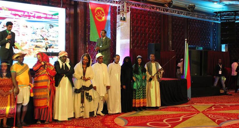 Members of the Eritrean Community in Qatar