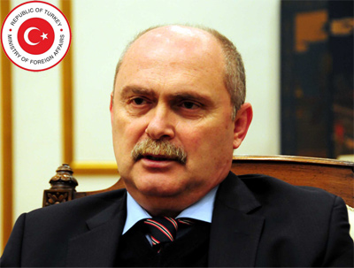 H.E. Feridun H. Sinirlioğlu is Minister of Foreign Affairs of the Republic of Turkey