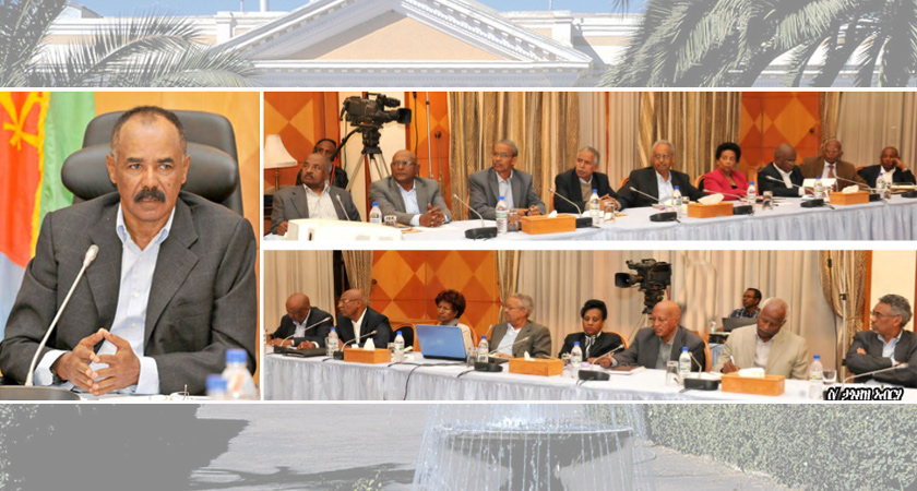 Eritrea: Cabinet of Ministers Holds a Two-day Meeting