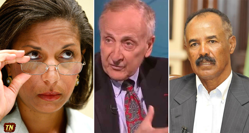Eritrea sanctions continued only because of Susan Rice