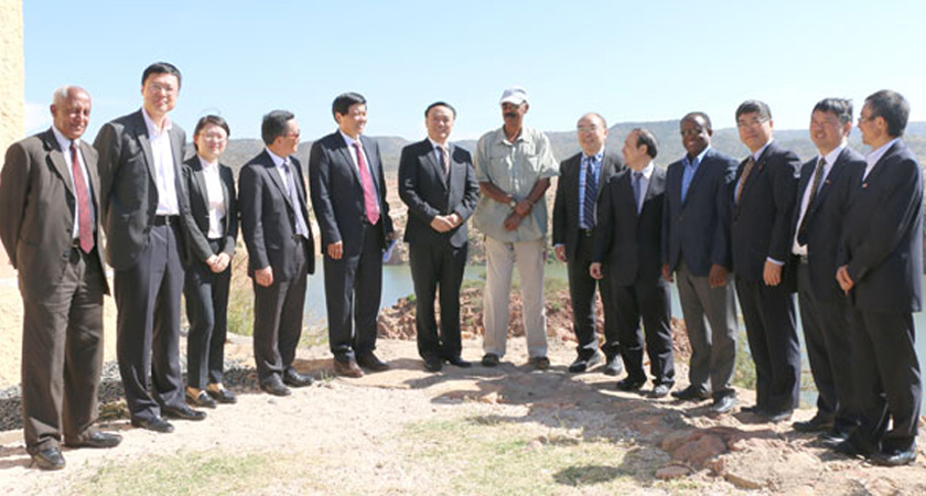 A Chinese delegation led by Mr. Liu Jie, Vice-Governor of Sichuan Province