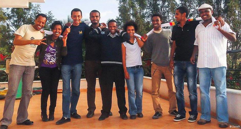 CPJ awarded its International Press Freedom Award to 6 Ethiopian bloggers in absentia