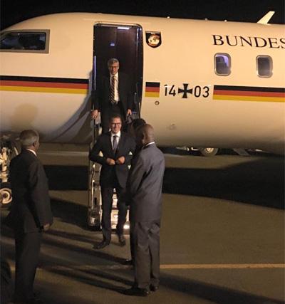 German Development Minister Gerd Müller is visiting Eritrea