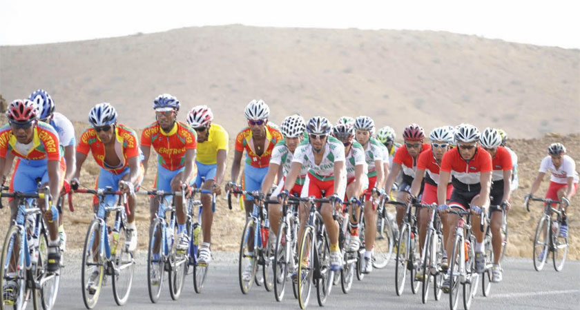 Three eritrean cycling talents join European team Bike Aid
