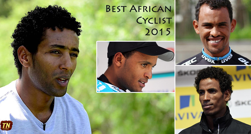 Four Eritrean Riders Nominated for 2015 Best African Cyclist Award