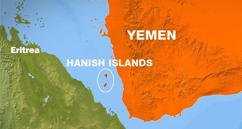 Saudi Coalition Forces Capture Hanish Island
