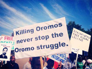 oromo struggle in Oromia region