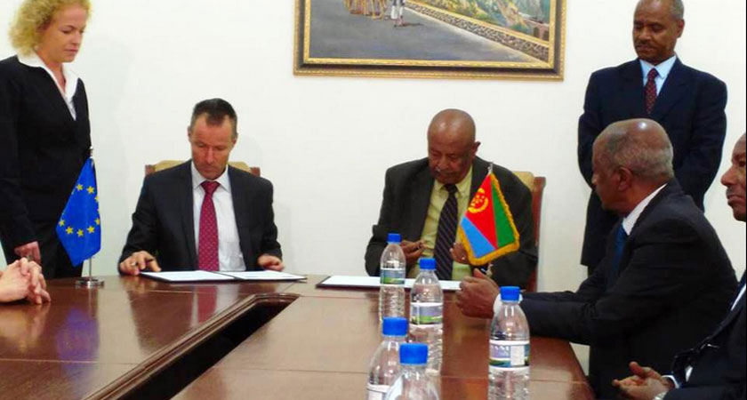 EU-Eritrea Sign 11th EDF Cooperation Agreement