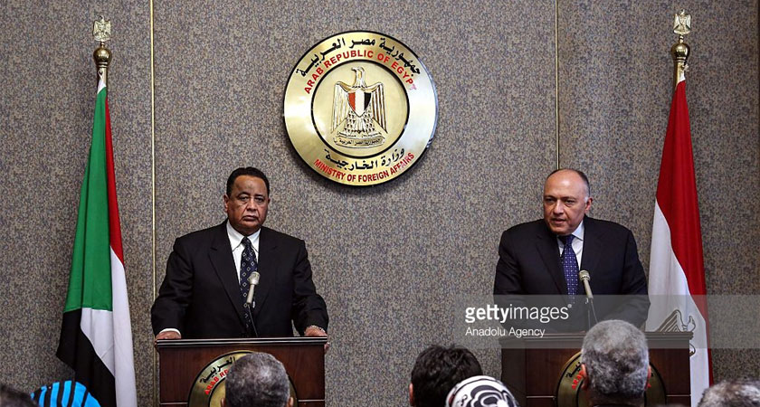 Foreign Ministers of Sudan and Egypt Discuss Ethiopian Dam