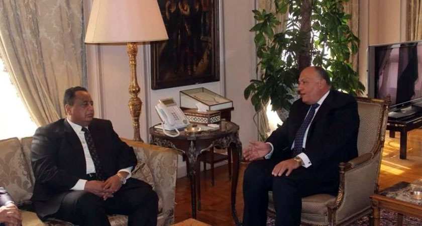 Sudan and Egypt Foreign Ministers discuss Nile dam