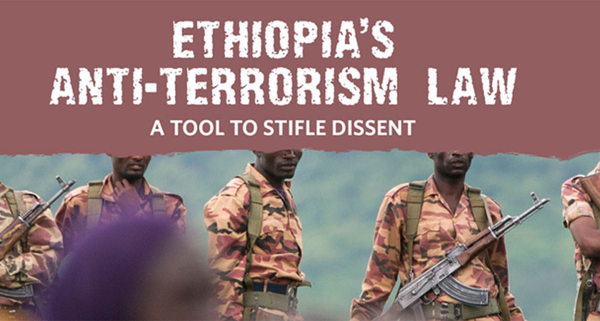 Time to Repeal Anti-Terrorism Law in Ethiopia