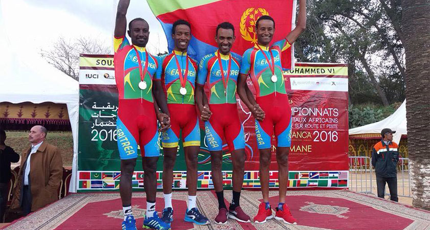 Eritrean national team heading to Rwanda for 2018 African Continental Road Championships