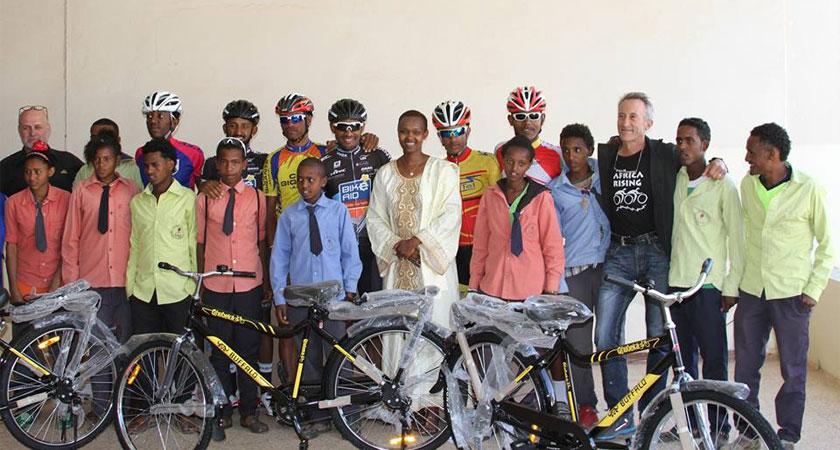 720 Utility Bikes to Eritrea This Year
