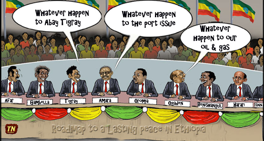 Ethiopia and the Nine Mini States Solution