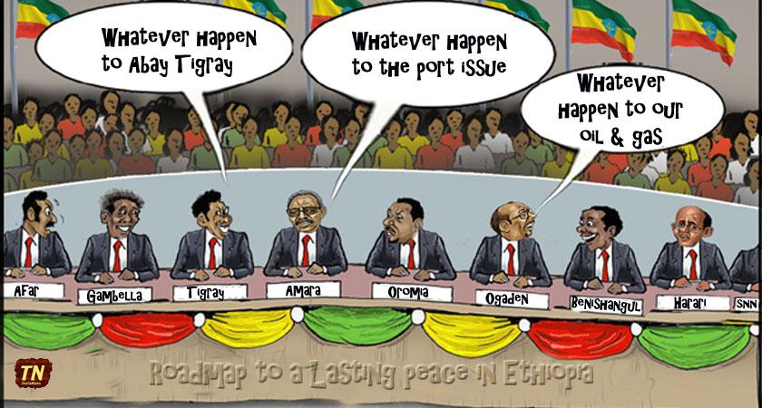 Ethiopia and the Nine Mini States Solution