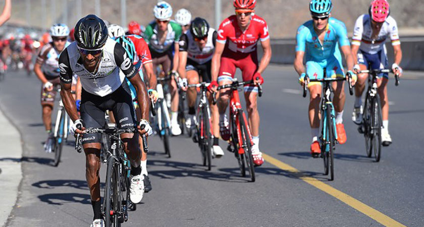 Merhawi Kudus aiming Giro d'Italia with Tour of Oman Confidence