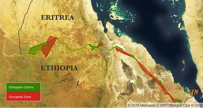 Confused TPLF Leader Wants to Resolve 'Border Dispute' with Eritrea