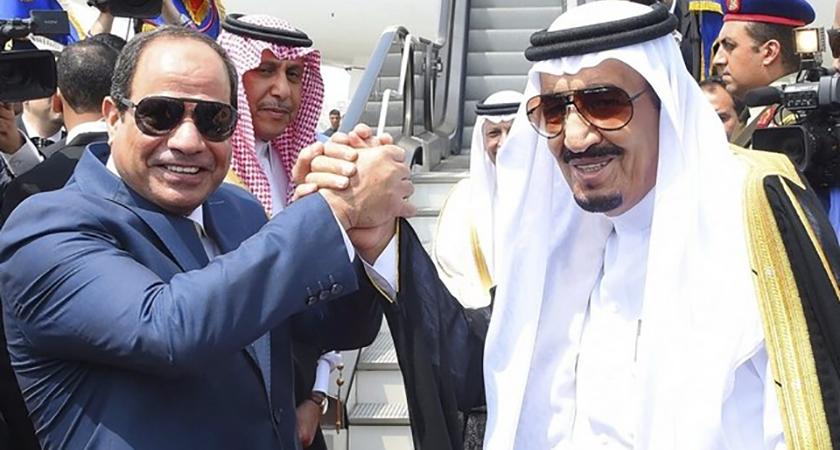 giving Red Sea islands to Saudi Arabia