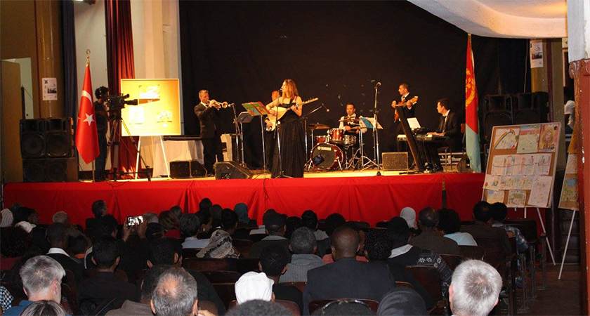 Turkish Pop Jazz Band Honours 25th Anniversary of Eritrean Independence Celebration