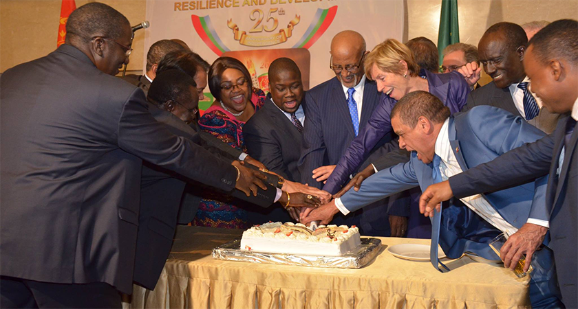 Eritrea's Silver Jubilee Independence Celebrated at AU HQ in Addis Ababa