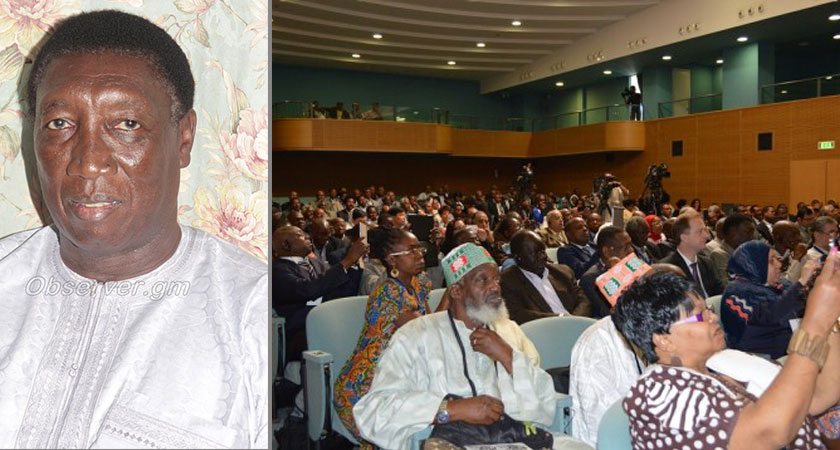 Gambia Labour Congress SG Attends Inte'l Solidarity Conference in Eritrea