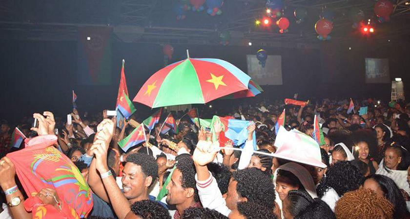 Violence in Tel Aviv as 1000s Celebrate Eritrean Independence