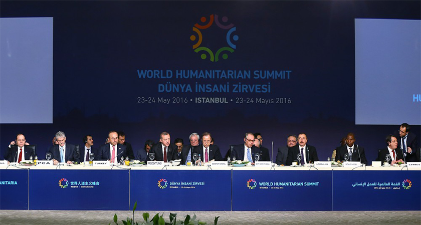 Eritrea Participates at the World Humanitarian Summit in Turkey