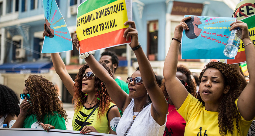 Ethiopian Domestic Workers Take to the Streets in Beirut