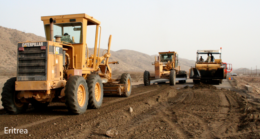 Eritrea self reliance road construction