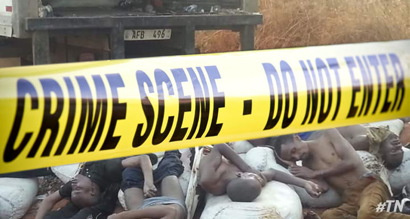Ethiopian migrants found suffocated