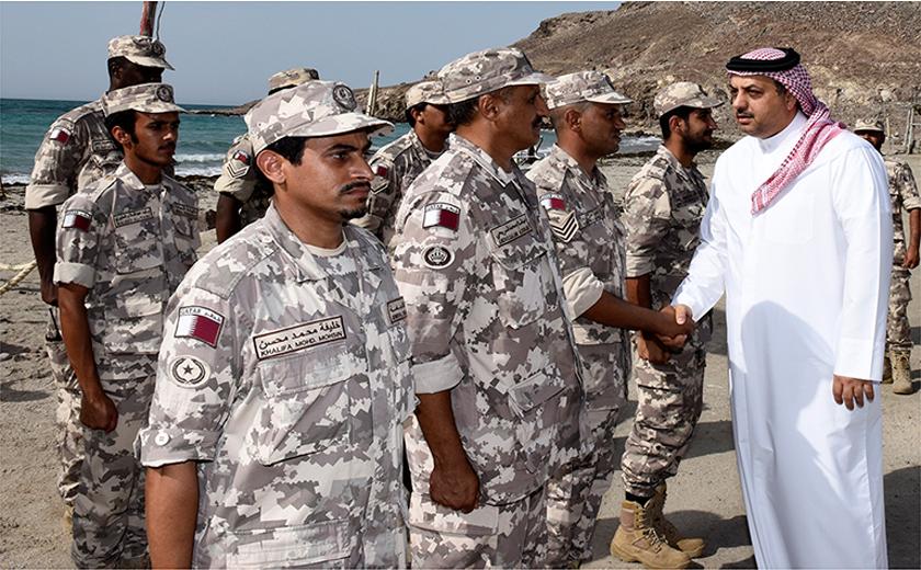 Qatar peacekeeping force in Eritrea