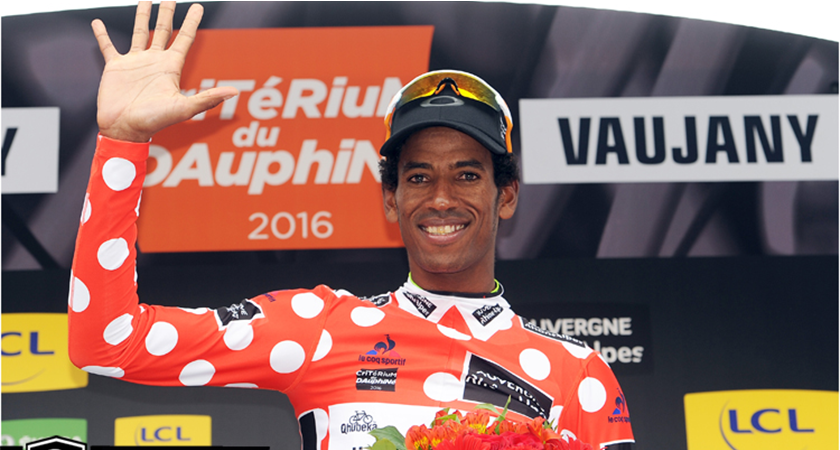 Dauphine #5: Daniel Teklehaimanot Wins the Polka Dot Jersey Again