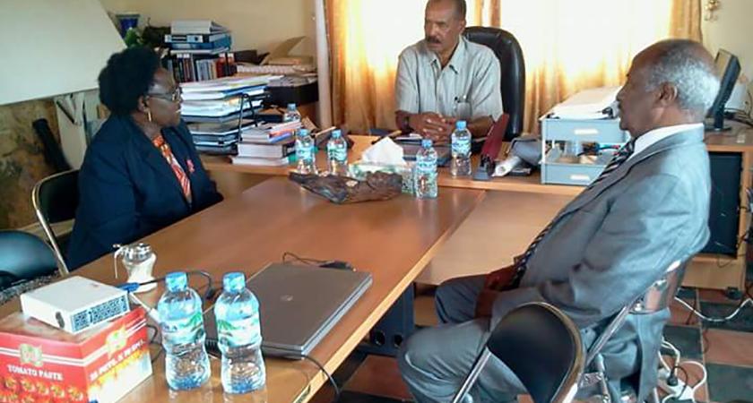 Uganda Seeking Eritrea's Support for AU Chair