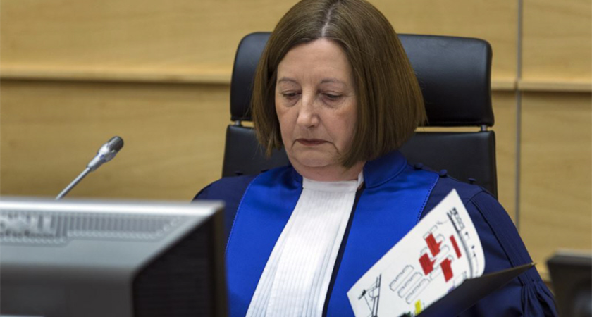 ICC President Judge Silvia Fernandez
