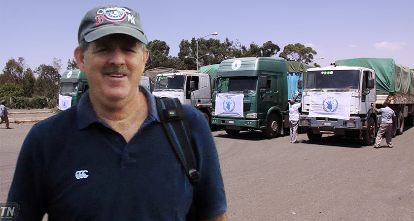Louis Mazel witness WFP Humanitarian aid in Massawa Port