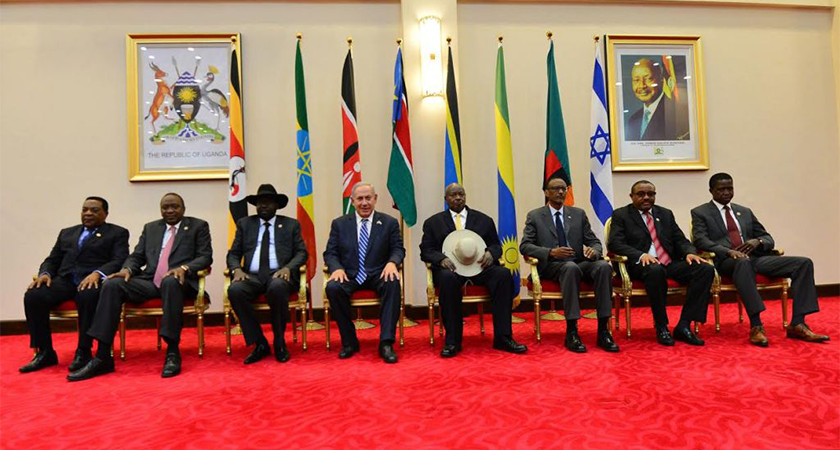 Netanyahu East Africa visit