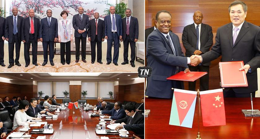Eritrean government delegation China