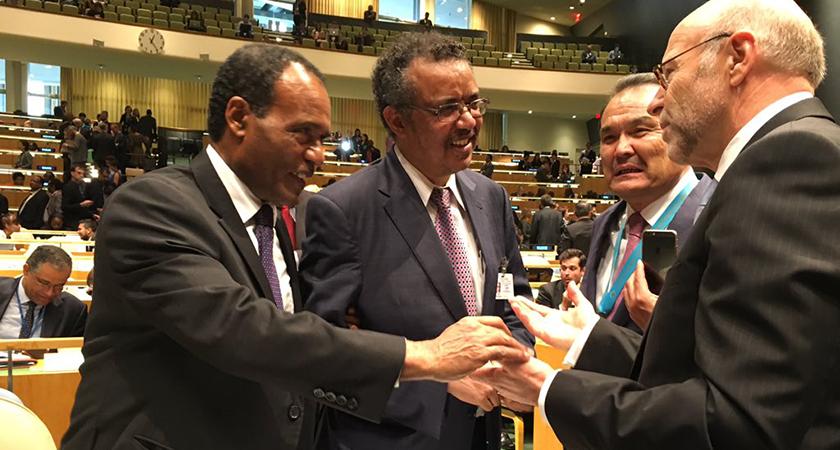 Ethiopia Runs Against Itself at the UN