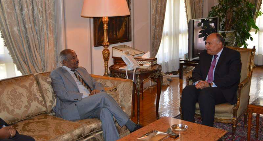 FM Osman Saleh Pays an Official Visit to Egypt