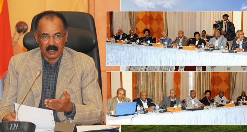 eritrea cabinet ministers